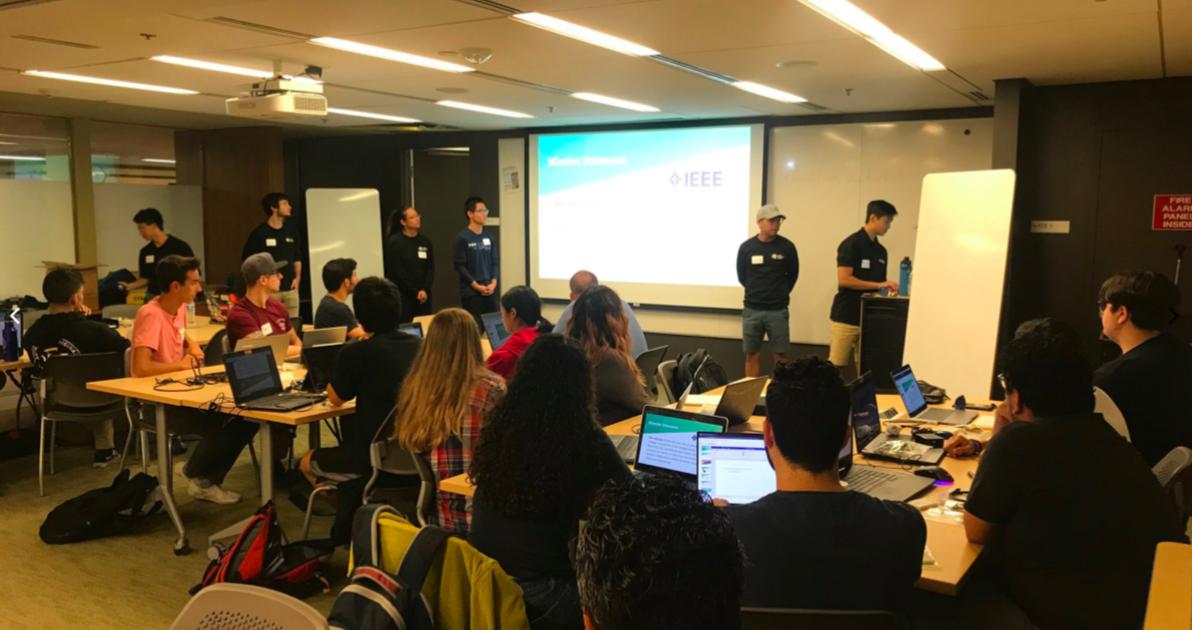 UCLA IEEE Brings Hands-on Workshop