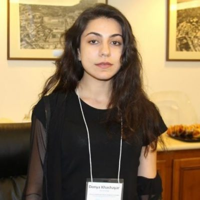 </p> <p>My name is Donya Khashayar. I am a Biomedical Engineering student from East Los Angeles College, which I attended from 2015-18.</p> <p>I am working in a Bioengineering Lab under Aaron Meyer. Our lab focuses on combining successful drugs on live-cancer-cells and image them in real-time to see the effects of drugs on them with a new method imaging technology, rather than with the classical method.</p> <p>What I'm hoping to get out of this experience is To become more mature on the path of my passion to become an engineer and a successful person, learn methods, techniques, and research skills in professional environment and from the experts, to become more knowledgeable and motivated with more goals and plans, become most ready as an engineer student and for the future, and experience university life in real-time.</p> <p>I like to travel the world and try all the food.</p> <p>
