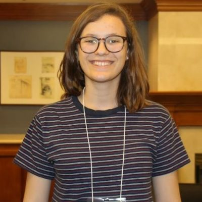 </p> <p>I am Emily Evans, I am a Mechanical Engineering major and I just finished my second year at El Camino College and will be attending UCSB in the fall.</p> <p>I am working in Ankur Mehta's lab the Laboratory for Embedded Machines and Ubiquitous Robots (LEMUR). The project I am working on is finding applications for paper robots. The application I chose is education, so I am designing a curriculum for students middle school aged and up to build their own robots out of paper.</p> <p>This summer I hope to create a useful set of instructions that can be easily implemented into the classroom. I am also excited to gain the experience of being in a professional university lab.</p> <p>When not working or at school, I enjoying eating a meal with friends, going on road trips, and playing with my two dogs.</p> <p>